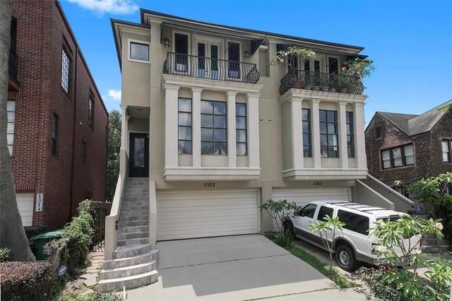 1312 Crocker Street, Houston, TX 77019 (MLS #68582354) :: Lerner Realty Solutions