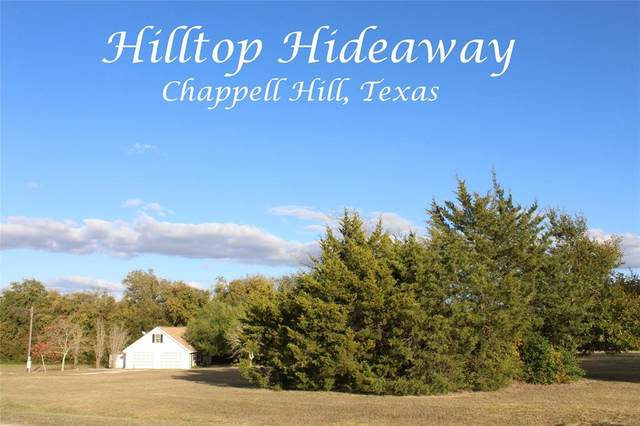 3585 E Hilltop Drive, Chappell Hill, TX 77426 (MLS #68704063) :: Lerner Realty Solutions