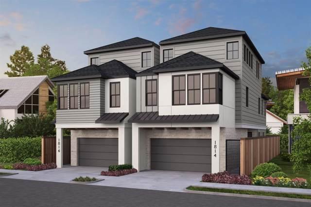1816 Driscoll Street, Houston, TX 77019 (MLS #68903215) :: Texas Home Shop Realty