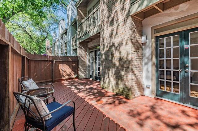 2100 Tanglewilde Street #51, Houston, TX 77063 (MLS #69037930) :: Christy Buck Team