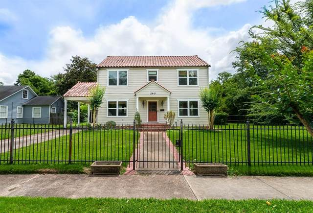 260 Manor Street, Beaumont, TX 77706 (MLS #69186917) :: Guevara Backman