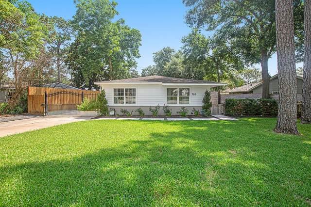 768 W 42nd Street, Houston, TX 77018 (MLS #69340312) :: Giorgi Real Estate Group