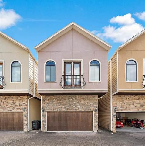 1222 W 17th Street D, Houston, TX 77008 (MLS #69435710) :: The Home Branch