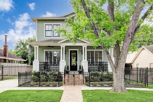 718 E 17th Street, Houston, TX 77008 (MLS #69518496) :: The Parodi Team at Realty Associates