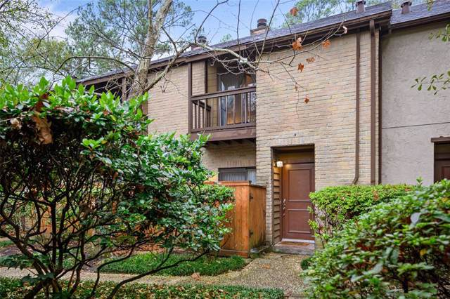 11711 Memorial Drive #337, Houston, TX 77024 (MLS #70110096) :: The Home Branch