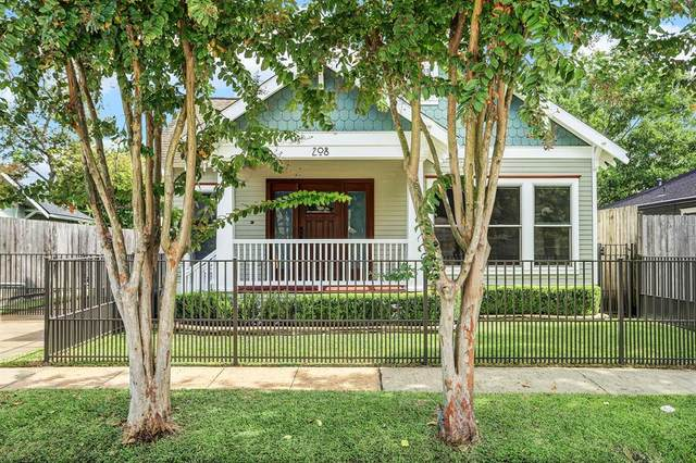 208 Moss Street, Houston, TX 77009 (MLS #70147396) :: Texas Home Shop Realty
