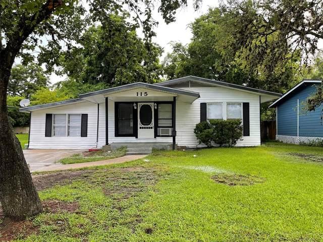 115 Cherry Street, Lake Jackson, TX 77566 (#70244195) :: ORO Realty