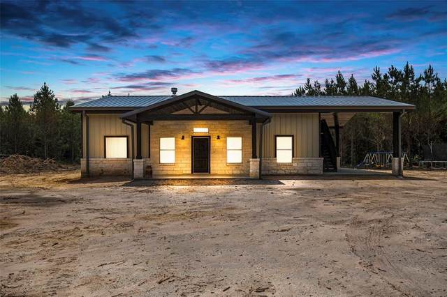 380 Griffin Road, Livingston, TX 77351 (MLS #70318587) :: My BCS Home Real Estate Group