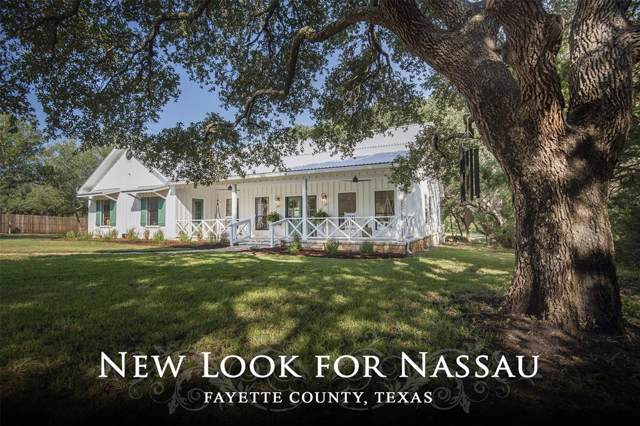 422 N Nassau Road, Round Top, TX 78954 (MLS #70408715) :: Giorgi Real Estate Group