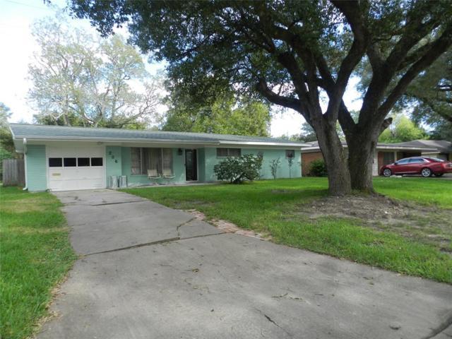 206 Crestview Drive, Hitchcock, TX 77563 (MLS #70428216) :: Krueger Real Estate