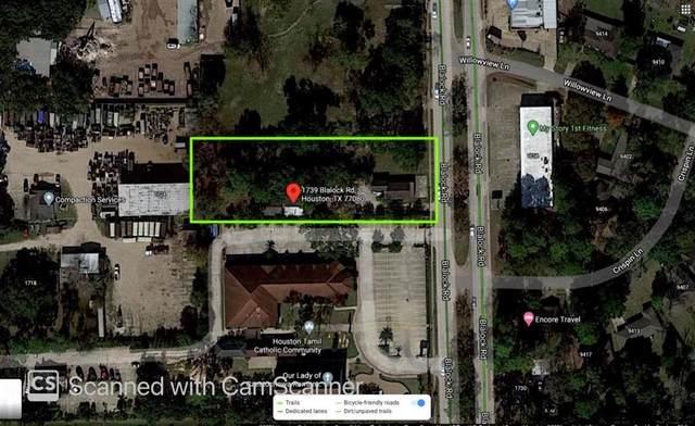 1739 Blalock Road, Houston, TX 77080 (MLS #70758202) :: The Bly Team