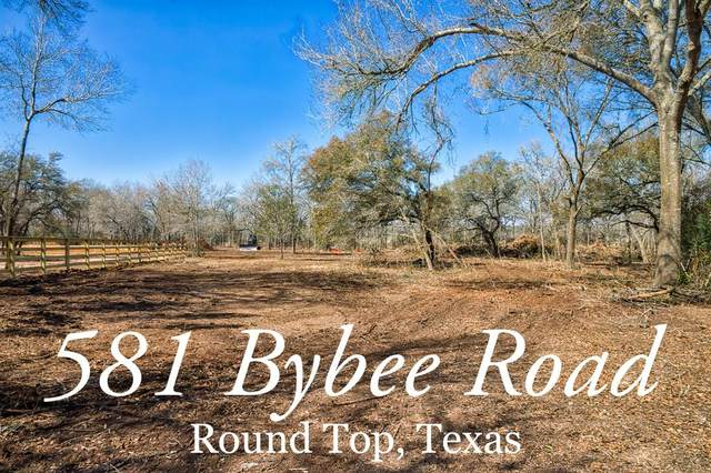 581 Bybee Road, Round Top, TX 78954 (MLS #71154274) :: Michele Harmon Team
