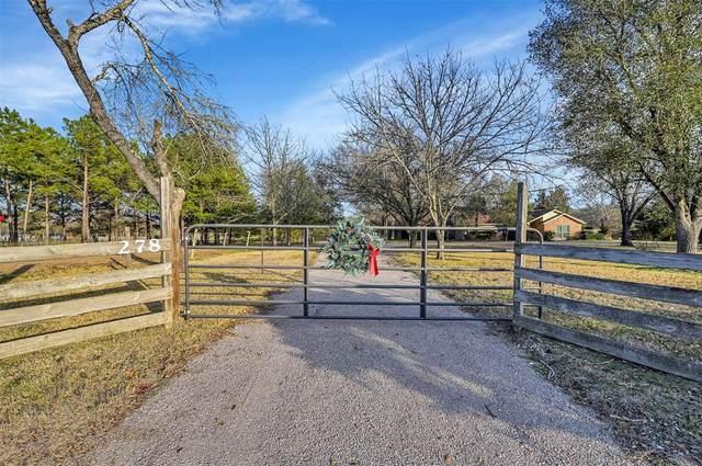 278 Fm 980 Road, Huntsville, TX 77320 (MLS #71288688) :: Michele Harmon Team