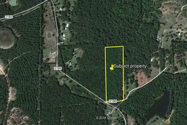 9 acres County Road 2190, Cleveland, TX 77327 (MLS #71348858) :: Ellison Real Estate Team