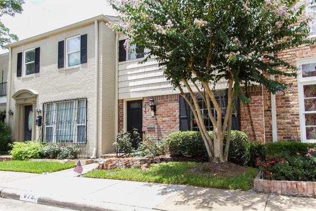 679 N Post Oak Lane #679, Houston, TX 77024 (MLS #71375717) :: Texas Home Shop Realty
