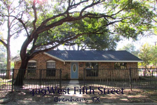409 W Fifth Street, Brenham, TX 77833 (MLS #71564590) :: The SOLD by George Team