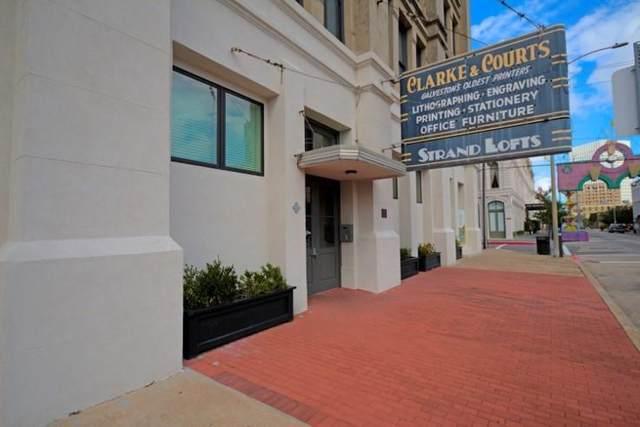 2400 Mechanic Street #304, Galveston, TX 77550 (MLS #7180561) :: Connect Realty