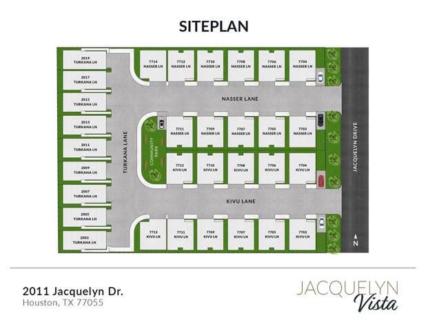 7707 Nasser Lane, Houston, TX 77055 (MLS #72122111) :: Texas Home Shop Realty