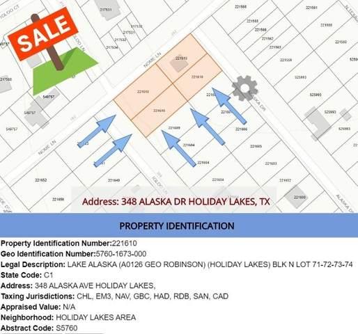 348 Alaska Avenue, Holiday Lakes, TX 77515 (#72141959) :: ORO Realty