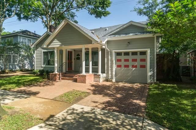 1628 Vassar Street, Houston, TX 77006 (#72144340) :: ORO Realty