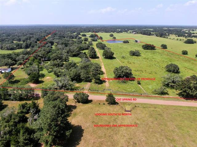 1689 Cat Spring Road, Cat Spring, TX 78933 (MLS #7218186) :: The SOLD by George Team