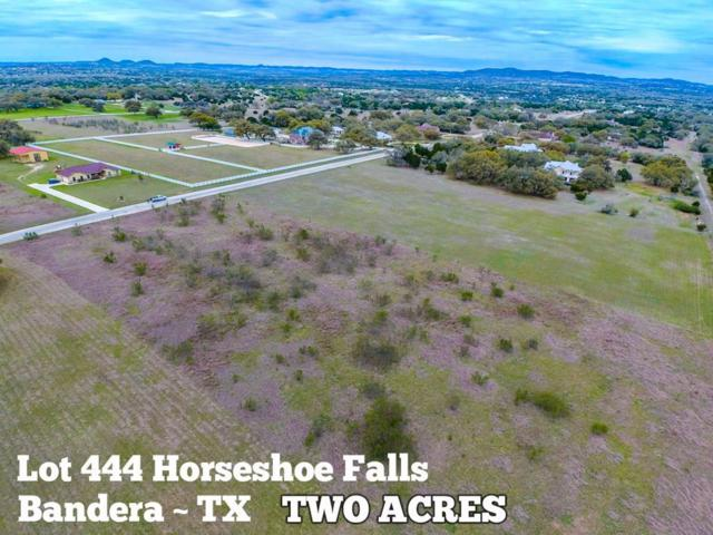 Lot 444 Horseshoe Falls, Bandera, TX 78003 (MLS #72259724) :: The Heyl Group at Keller Williams