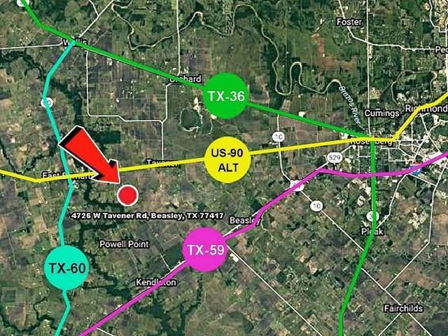 000 W Tavener Road, Beasley, TX 77417 (MLS #72359168) :: Guevara Backman