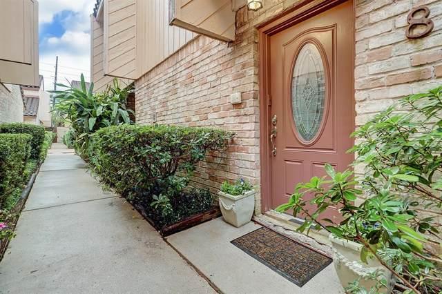 5918 San Felipe #8, Houston, TX 77057 (MLS #72424496) :: The Sansone Group