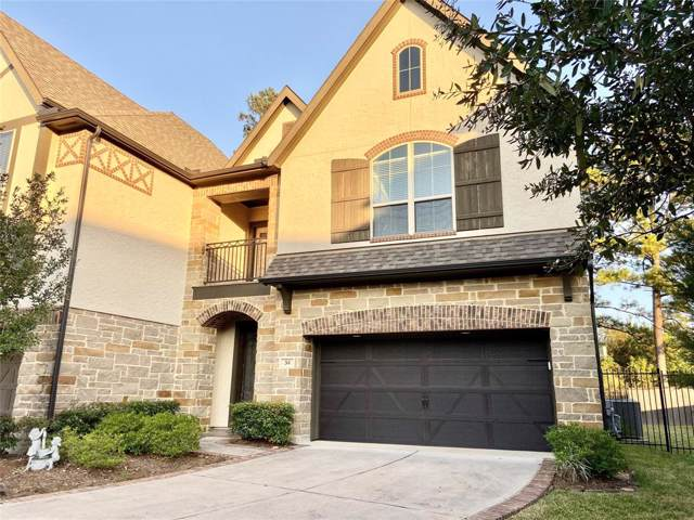 34 Jonquil Place, The Woodlands, TX 77375 (MLS #72573910) :: The SOLD by George Team