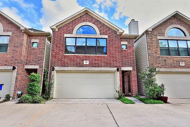 650 Westcross Street #51, Houston, TX 77018 (MLS #72608022) :: NewHomePrograms.com LLC