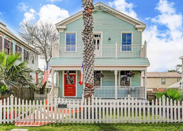 1013 Ball Street, Galveston, TX 77550 (MLS #72766689) :: Caskey Realty