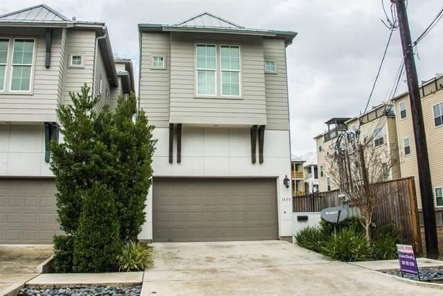 1223 W 15th 1/2 Street, Houston, TX 77008 (MLS #72809726) :: The Home Branch