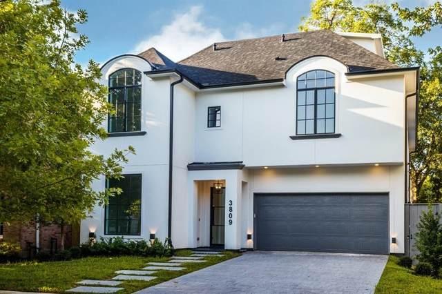 3809 Marquette Street, West University Place, TX 77005 (MLS #72901860) :: Caskey Realty