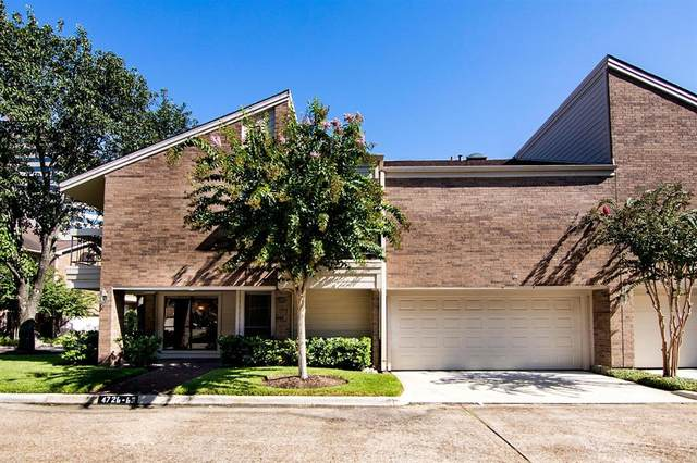 4726 Post Oak Timber Drive 8/63, Houston, TX 77056 (MLS #72916293) :: Guevara Backman