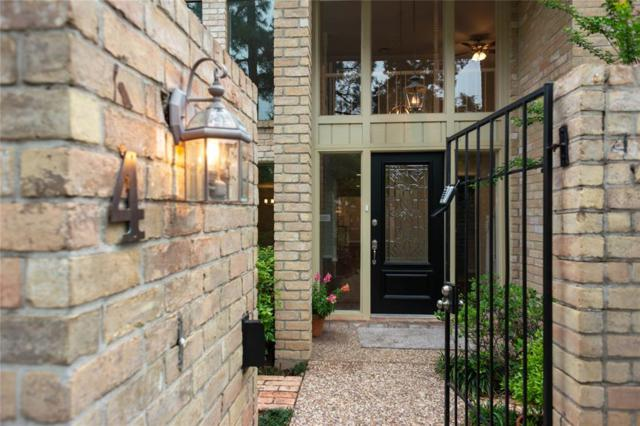 15600 Barkers Landing Road #4, Houston, TX 77079 (MLS #72982416) :: Texas Home Shop Realty
