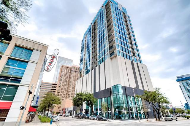 1211 Caroline Street #1402, Houston, TX 77002 (MLS #73339673) :: The Parodi Team at Realty Associates