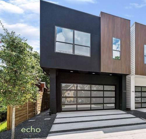 1418 Laird Street, Houston, TX 77008 (MLS #73382937) :: Phyllis Foster Real Estate
