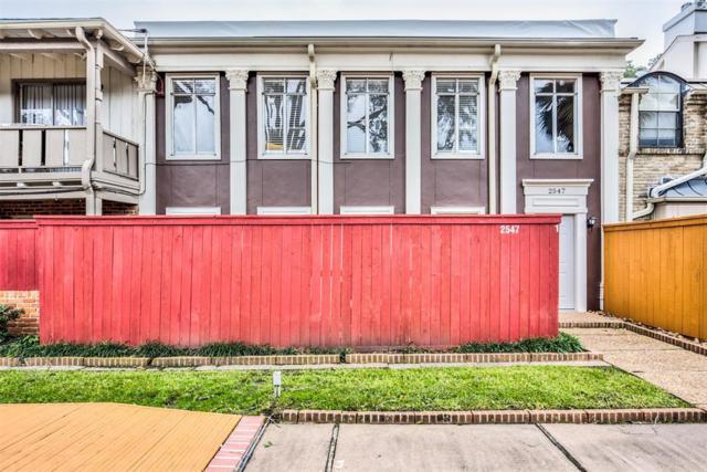 2547 Marilee Lane #1, Houston, TX 77057 (MLS #7362853) :: Giorgi Real Estate Group