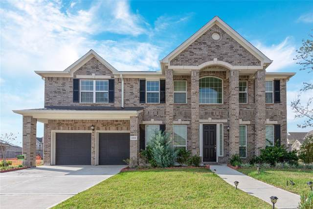 2202 Lago Canyon Court, Pearland, TX 77089 (MLS #73905746) :: Texas Home Shop Realty