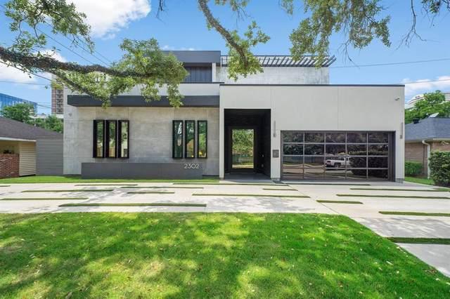 2302 Suffolk Drive, Houston, TX 77027 (MLS #74049557) :: Caskey Realty