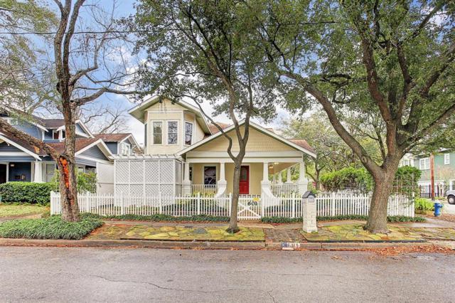 601 Highland Street, Houston, TX 77009 (MLS #74071792) :: Texas Home Shop Realty