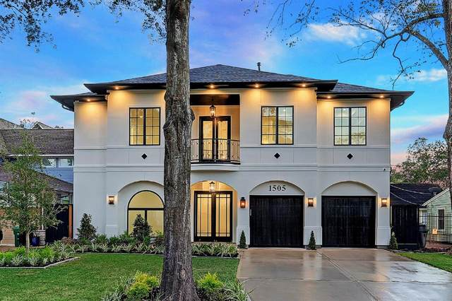 1505 Wakefield Drive, Houston, TX 77018 (MLS #74297390) :: The Bly Team