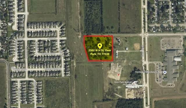 2302 N H Street, Deer Park, TX 77536 (MLS #74574928) :: The SOLD by George Team