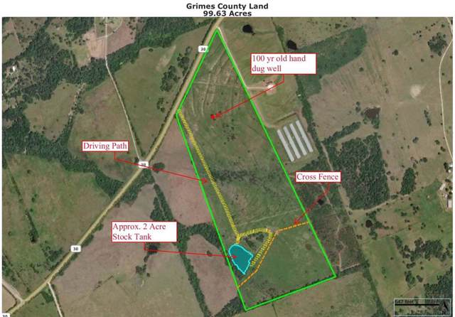 99.63 Acres Hwy 30, Bedias, TX 77831 (MLS #74692075) :: TEXdot Realtors, Inc.