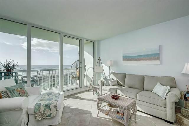 1401 E Beach Drive #609, Galveston, TX 77550 (MLS #74736348) :: My BCS Home Real Estate Group