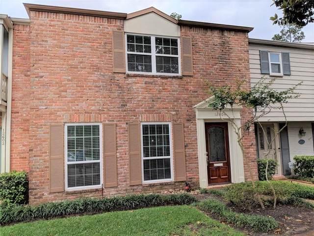 12604 Huntingwick Drive #107, Houston, TX 77024 (MLS #74759642) :: Green Residential