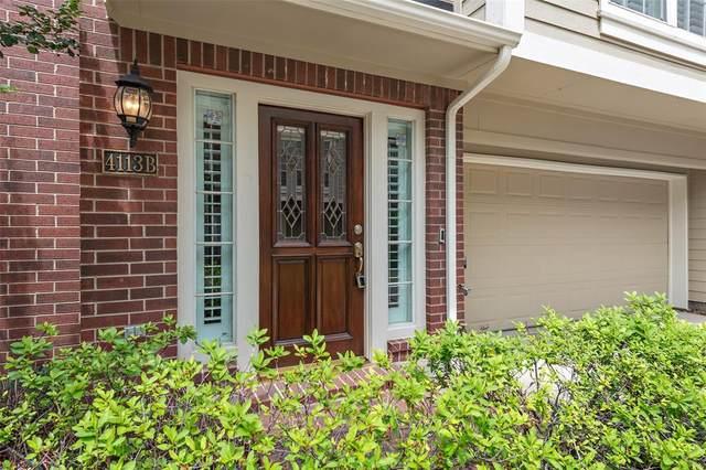 4113 Blossom Street B, Houston, TX 77007 (MLS #7485955) :: Keller Williams Realty