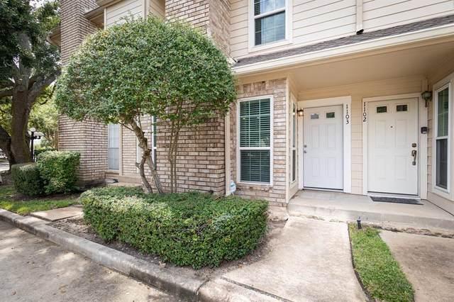 7575 Cambridge Street #1103, Houston, TX 77054 (MLS #74868947) :: Len Clark Real Estate