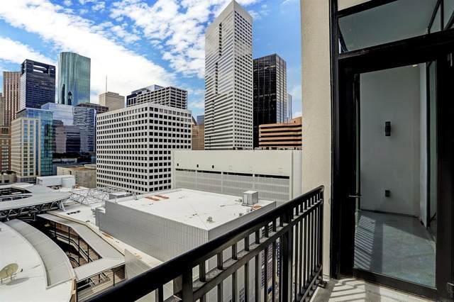1211 Caroline Street #1207, Houston, TX 77002 (MLS #74893838) :: Caskey Realty