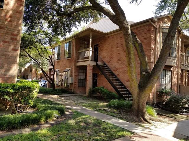 2255 Braeswood Park Drive #292, Houston, TX 77030 (MLS #75237105) :: The Bly Team